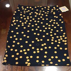 XL LuLaRoe Cassie Skirt B06 37